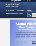 Captura de http://www.soundpillow.com/