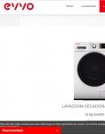 Captura de https://evvohome.com/lavadoras-secadoras/