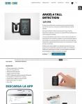Captura de http://www.sense4care.com/es/producto/angel4-fall-detection/