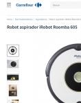 Captura de https://www.carrefour.es/robot-aspirador-irobot-roomba-605/2011532873/p